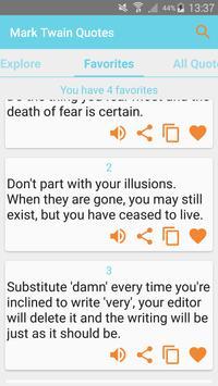 Mark Twain Quotes apk screenshot