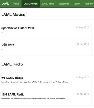 LAML App apk screenshot