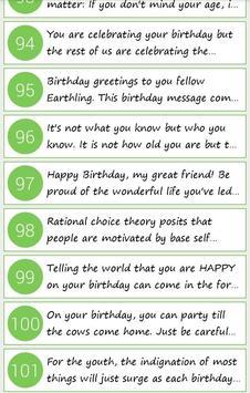 Birthday Quotes for Whatsapp apk screenshot