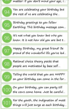 Birthday Quotes for Whatsapp poster