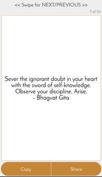 Bhagvat Gita Quotes in English apk screenshot