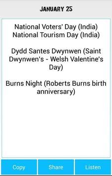 All Commemorative Days apk screenshot