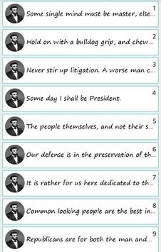 101 Great Saying By A'Lincoln poster