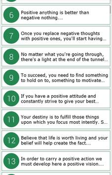 Amazing Positive Quotes poster