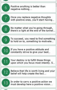 Amazing Positive Quotes apk screenshot