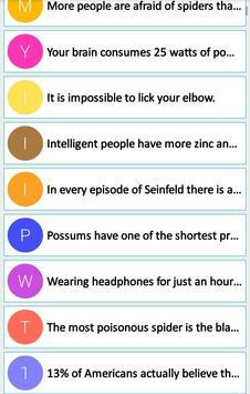 1001 Shocking Science Facts apk screenshot