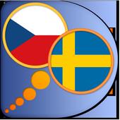 Czech Swedish dictionary icon