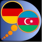 Azerbaijani German dictionary icon