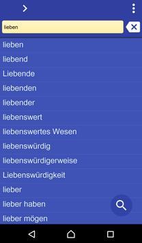 German Armenian dictionary poster