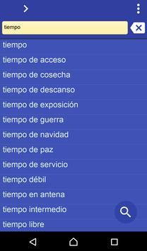 Spanish Norwegian dictionary poster