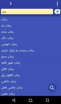 Persian (Farsi) Italian dict poster