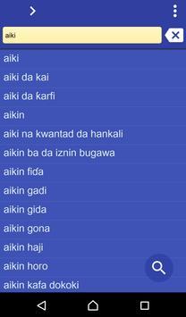 Hausa Hindi dictionary poster