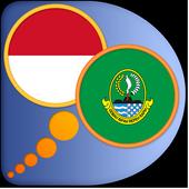 Indonesian Sundanese dict icon