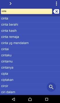 Indonesian Sundanese dict poster