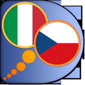 Czech Italian dictionary icon
