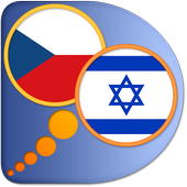 Czech Hebrew dictionary icon