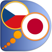 Czech Japanese dictionary icon