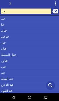Arabic Vietnamese dictionary poster