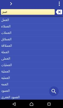 Arabic Czech dictionary poster