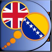 Bosnian English dictionary icon