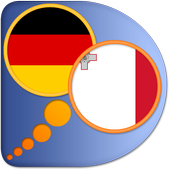 German Maltese dictionary icon