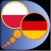 German Polish dictionary icon