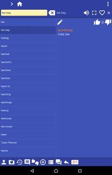 English Irish dictionary apk screenshot
