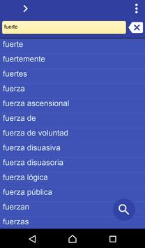 Spanish Urdu dictionary poster