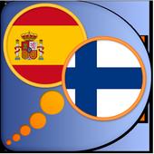Spanish Finnish dictionary icon