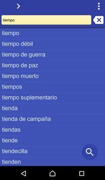 Spanish Irish dictionary poster