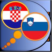 Croatian Slovenian (Slovene) d icon