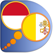 Indonesian Latin dictionary icon
