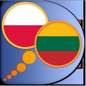 Lithuanian Polish dictionary icon