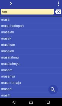 Malay Uzbek dictionary poster