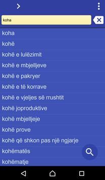 Albanian Serbian dictionary poster