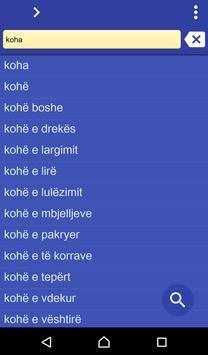 Albanian Swedish dictionary poster