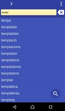 Catalan Spanish dictionary poster