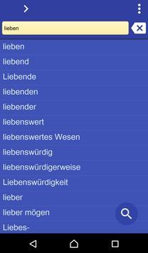 German Telugu dictionary poster