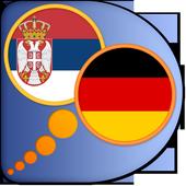 German Serbian dictionary icon