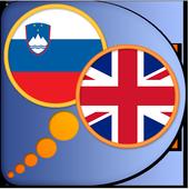 English Slovenian (Slovene) di icon