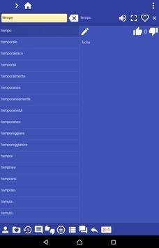 Italian Albanian dictionary apk screenshot