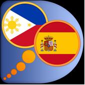 Spanish Filipino (Tagalog) dic icon