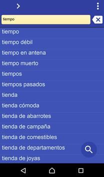 Spanish Turkish dictionary poster