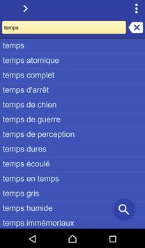 French Turkish dictionary poster