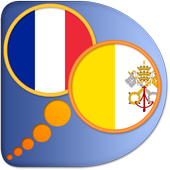 French Latin dictionary icon