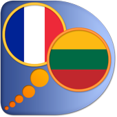 French Lithuanian dictionary icon