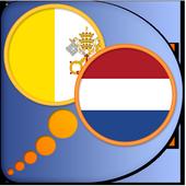 Latin Dutch dictionary icon