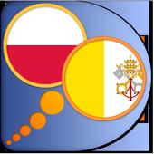 Latin Polish dictionary icon