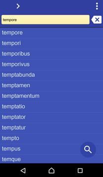 Latin Polish dictionary poster