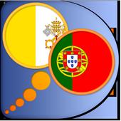 Latin Portuguese dictionary icon